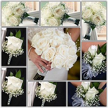 White Roses Wedding Package